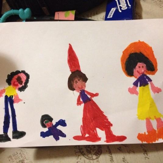 famiglia-giambamera-disegno-di-alice
